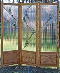 Glass Room Divider with Custom Stained Glass Room Divider By Isaac D Smith Studio