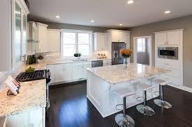 granite countertops with white cabinets bianco romano granite countertops pictures cost pros cons