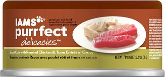Entree by Iams Purrfect Delicacies Select Cuts With Roasted Chicken U0026 Tuna