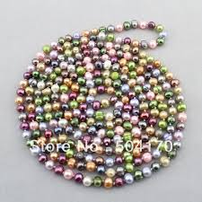 wholesale pearls necklace images New handmade cultured freshwater pearl necklace 8 9mm weaved jpg