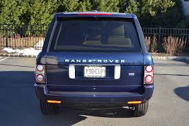 blue range rover interior 2011 range rover hse pre owned