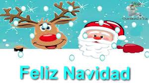imagenes de santa claus feliz navidad santa claus el reno y conejo pte desean feliz navidad youtube