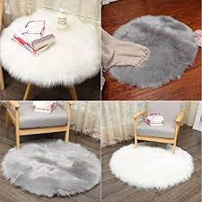 Area Rug Mat Soft Artificial Sheepskin Area Rug Mat