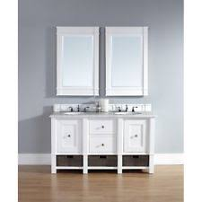 White Double Vanity 60 Mahogany Double Bathroom Vanities Ebay