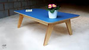 Plywood Coffee Table Synk Rectangular Plywood Coffee Table