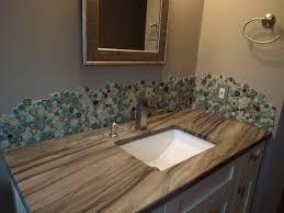 Porcelain  Pebbles Bathroom Backsplash Heartshaped Ceramic Mosaic - Pebble backsplash