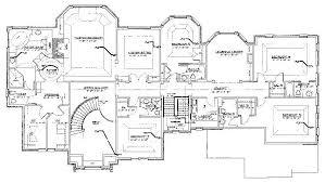 floor plans homes floor plans saddle river house plans 80345