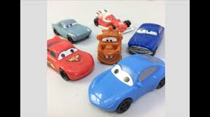 kinder joy egg surprises disney pixar cars 3 full set youtube
