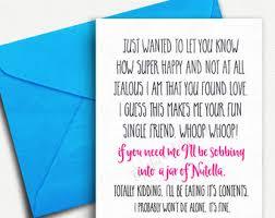 Funny Wedding Wishes Cards Wedding Shower Cards Etsy