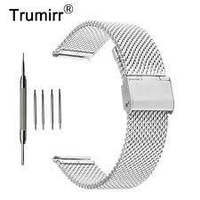 bracelet fossil steel images 18mm 20mm 22mm 24mm milanese watch band for fossil stainless steel jpg