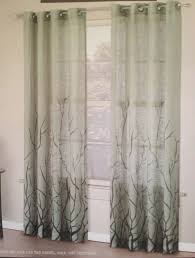 Sheer Burgundy Curtains Grande Window Treatment Decoration Using Rod Pocket Curtain