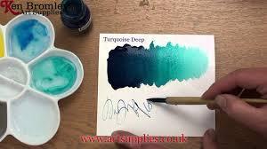 liquitex professional acrylic ink turquoise deep 561 youtube