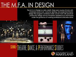 Home Theatre Design Books by Mfa Design Umd Of Theatre Dance And Performance Studies