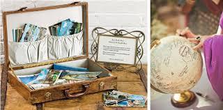mariage voyage idées pour votre mariage sur le thème du voyage décoration et