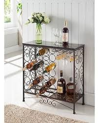 metal wine rack table get the deal 30 off k b furniture bronze metal wine rack wr1349