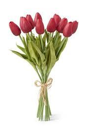 tulip bouquets real touch mini tulip bouquets the faded farmhouse