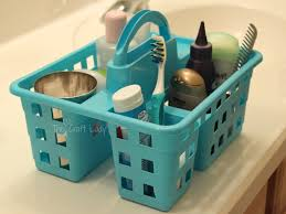 Basket Drawers For Bathroom Dollar Store Bathroom Organizing The Crazy Craft Lady