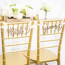 and groom chair signs chair signs for wedding groom wedding