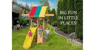 Big Backyard Playsets by Wooden Playsets In Ohio U0027s Amish Country Play Mor Swingsets
