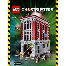 Lego Headquarters Lego Firehouse Headquarters Set 75827 Instructions Brick Owl