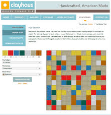 Bathroom Tile Design Tool Design A Confetti Tile Bathroom Wall Using Clayhaus Ceramics