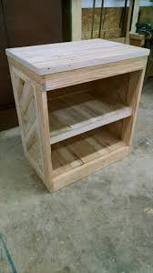 diy pallet nightstand or side table nightstands pallets and