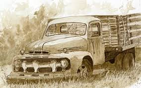 ford truck drawings fine art america