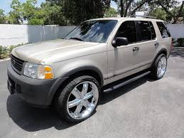 2005 ford explorer custom 2004 ford explorer information and photos zombiedrive