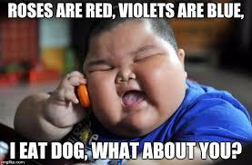 Asian Dog Meme - fat asian kid imgflip