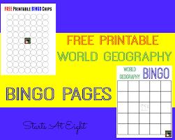 printable thanksgiving bingo fun with geography free geography printables startsateight