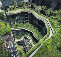 breathtaking green hotel in singapore showcases sustainable