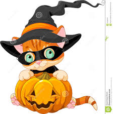 black cat halloween wallpaper cute halloween kitten stock photos image 34042213