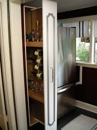 slim sliding kitchen cabinet tehranway decoration how to build a vertical pull out cabinet hgtv steps