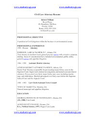 Litigation Attorney Resume Sample by Civil Rights Attorney Cover Letter