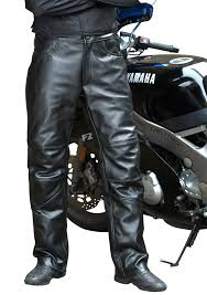 leather motorcycle pants vanson highway 101 hybrid of leather motorcycle pants and chaps