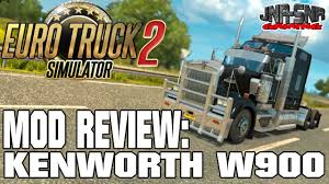 trucking companies with kenworth w900 kenworth w900 v2 0 euro truck simulator 2 mod review ets 2 mod