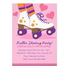 nice roller skating birthday invitations printable concerning cool