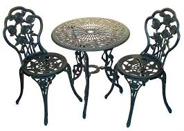 Wrought Iron Bistro Chairs Bistro Patio Sets