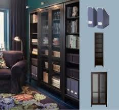 ikea hemnes glass door cabinet cool exterior plan also ikea black brown hemnes bookcase with a