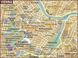 map of vienna map of vienna