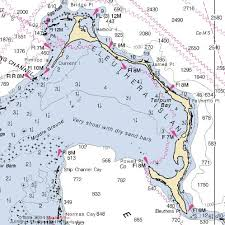 navigation map eleuthera nautical navigation chart map
