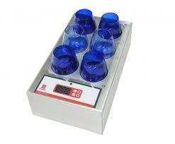 bicchieri degustazione olio scalda bicchieri per assaggio olio panel test claudio vignoli