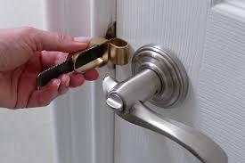 bedroom door lock with key calslock portable door travel lock tools products amazon com