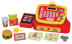 cuisine mcdo jouet mcdonalds caisse enregistreuse électronique pour