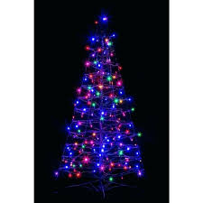 potted artificial trees the home depot 4 ft pre lit entrance