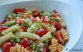 simple pasta salad recipe youtube