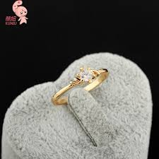 small rings design images 2015 new arrival design high quality small cute sunflower crystal jpg