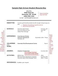 high school resume template microsoft word high school student sle resume topshoppingnetwork