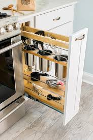 Narrow Pull Out Spice Rack 67 Cool Pull Out Kitchen Drawers And Shelves Shelterness
