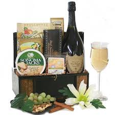 gift baskets with wine wine gift baskets dom perignon greetings wine gift basket diygb